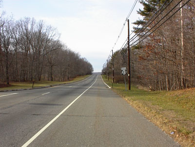 Route 23 in West Milford, NJ