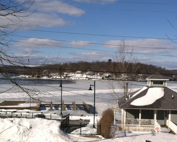 Frozen Lake Hopatcong