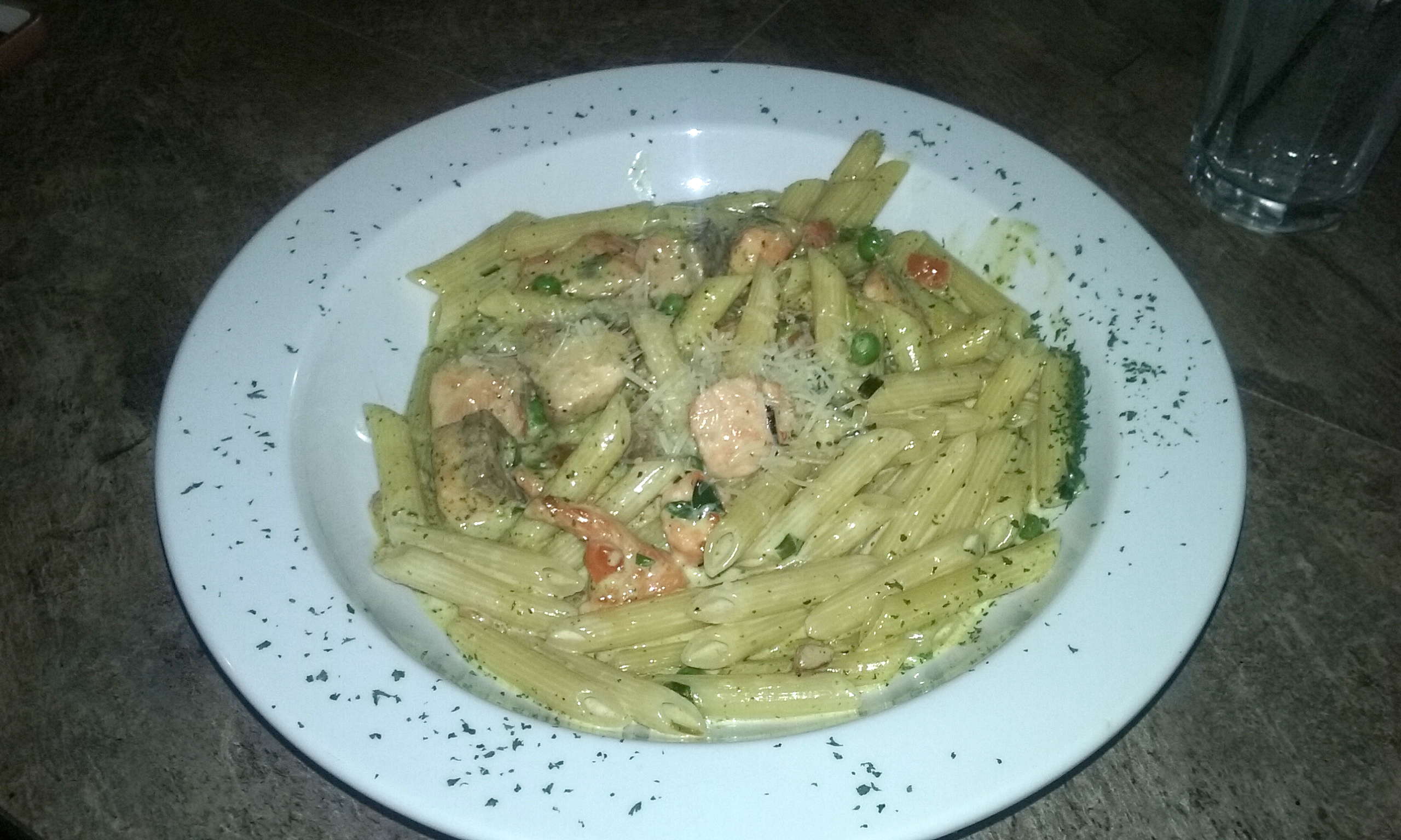 Salmon pesto at Ralph Spice